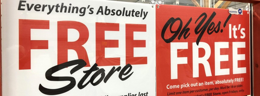 Fleamasters' Friday Free Store