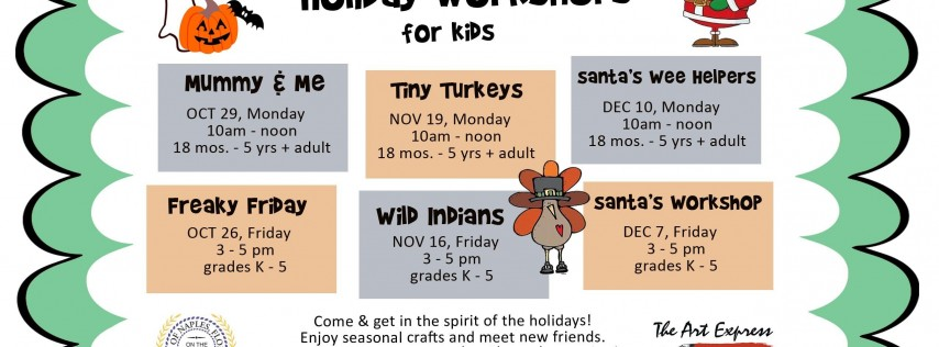 Youth Holiday Workshops