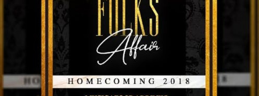 Grown Folks Affair - Homecoming 2018