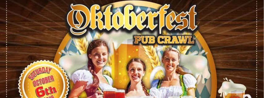 The Oktoberfest Pub Crawl 2018