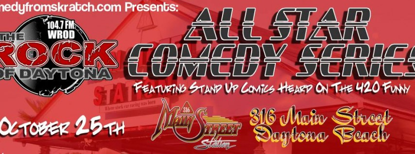 All Star Comedy Show at Main Street Station