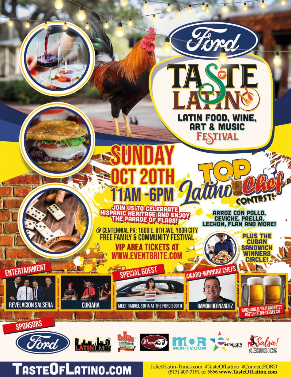 Taste of Latino: Food, Wine, Art & Music Festival