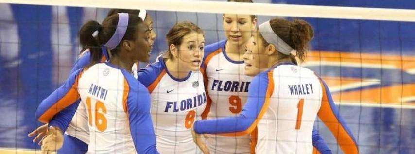 LSU Tigers at Florida Gators Womens Volleyball