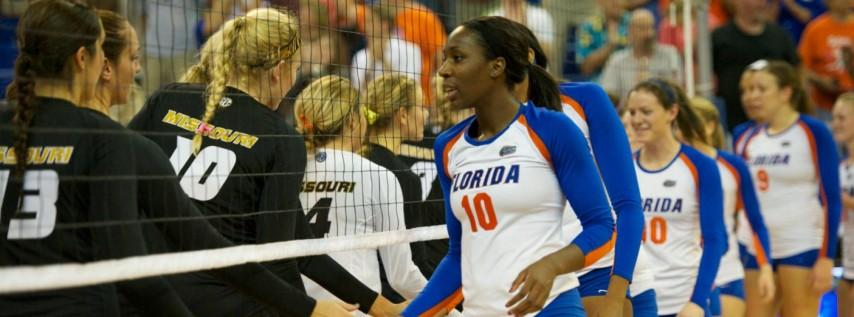 Missouri Tigers at Florida Gators Womens Volleyball