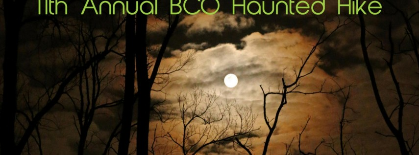 11th Annual BCO Haunted Hike