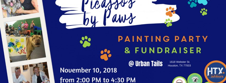 BCO & HTXO present: Picasso's by Paws Painting Party & Fundraiser