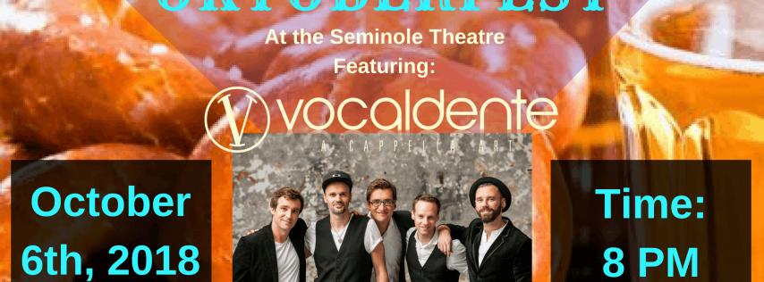 Oktoberfest featuring Germany's Vocaldente