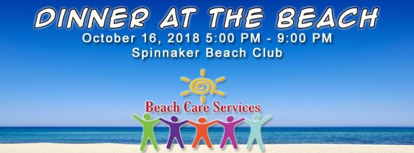 Beach Care Services 4th Annual Dinner at the Beach