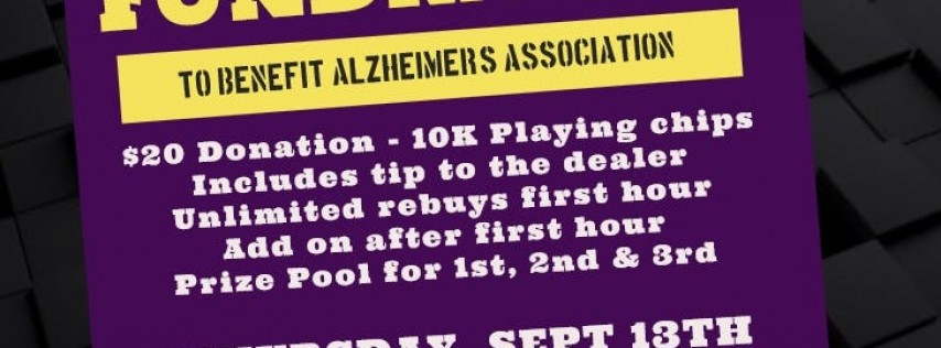 Alzheimer's Association Poker Fundraiser