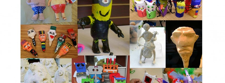 3D Art Winter Break Camp