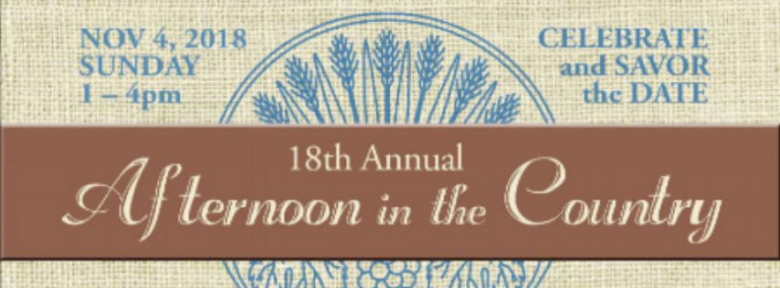 18th Annual Afternoon in The Country