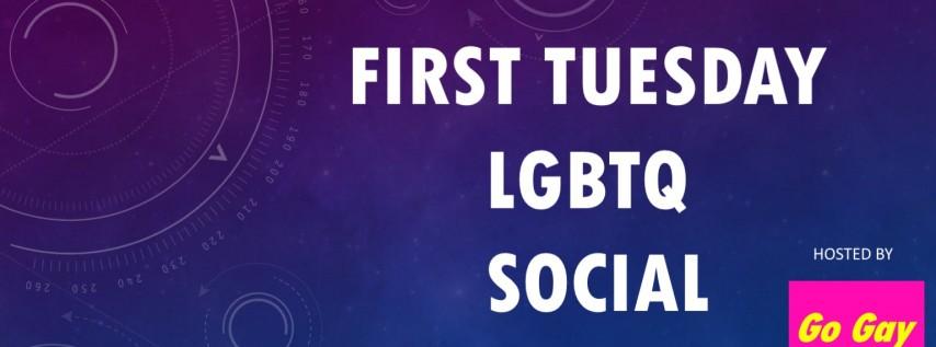 LGBTQ Community Happy Hour Social - First Tuesday Edition