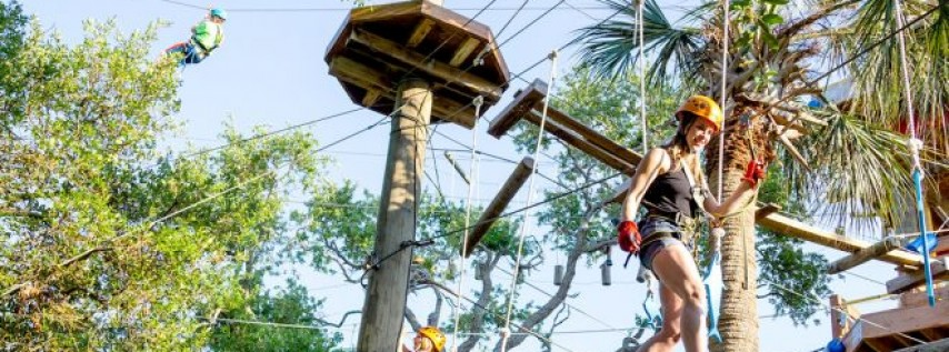 Celebrate Labor Day at Cocoa Beach Aerial Adventures