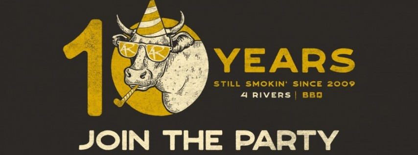 4 Rivers 10-Year Birthday Party
