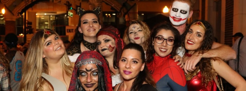 Plazaween 2019 on Halloween Night