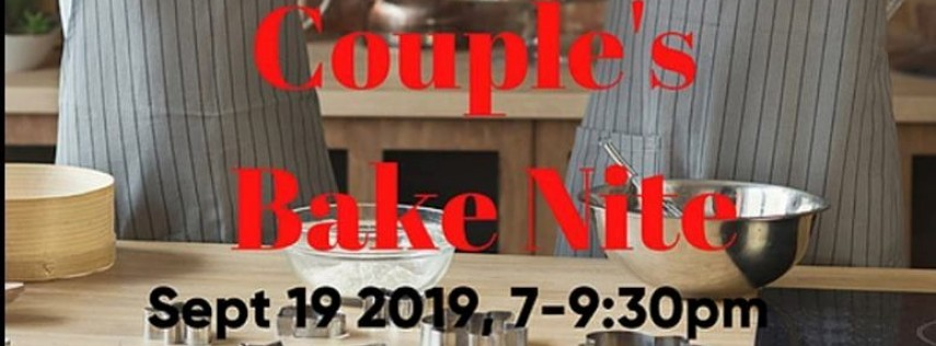 Couple's Bake Night at Bubble & Co.