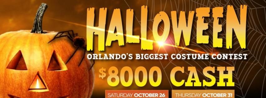 Halloween - $8000 CASH! Orlando's Biggest Costume Contest!