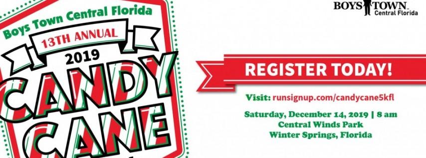 13th Annual Candy Cane 5K Run/Walk