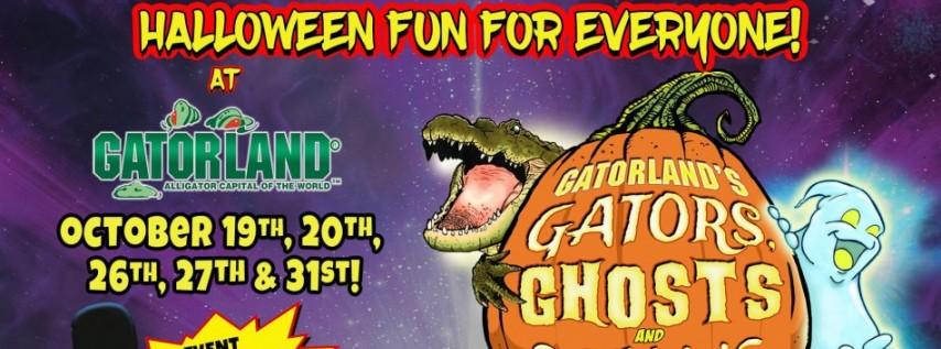 Gatorland's Gators, Ghosts & Goblins Halloween Fun for Everyone!