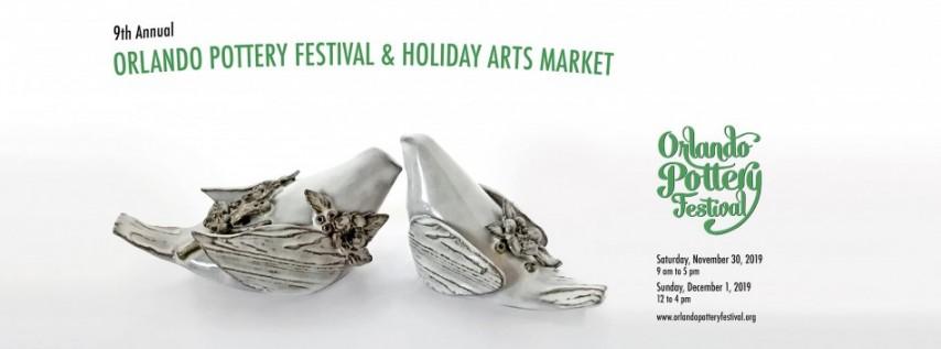 9th Annual Orlando Pottery Festival & Holiday Arts Market