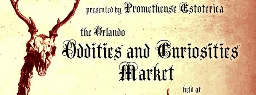 The Orlando Oddities and Curiosities Market Winter 2019