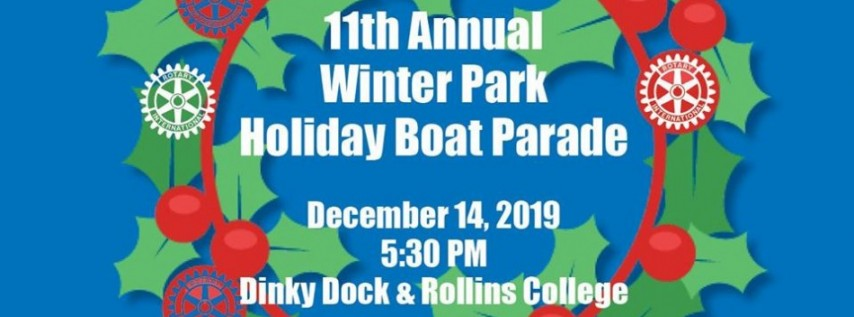 Winter Park Holiday Boat Parade