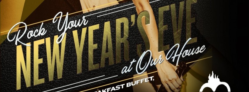 New Year's Eve Party and Midnight Breakfast Buffet!