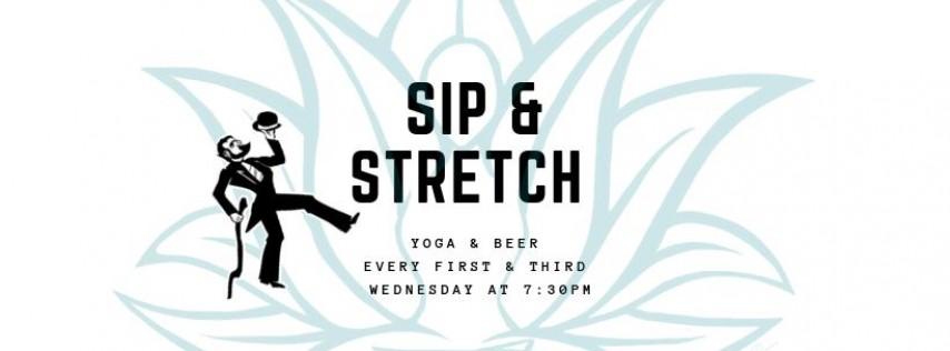 Sip and Stretch - Hoppy Hips& Hammys
