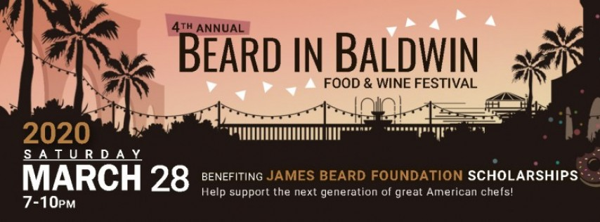 Beard in Baldwin Food and Wine Festival