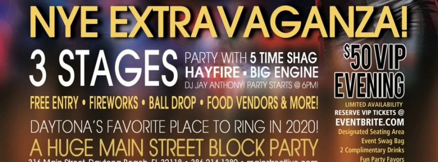 Celebrate New Years Eve at Main Street Station