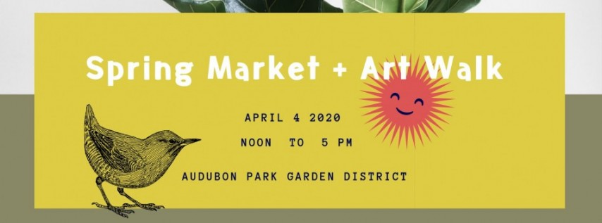 Spring Market and Art Walk