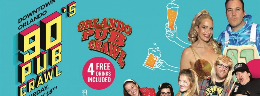 The 90's Pub Crawl ORLANDO