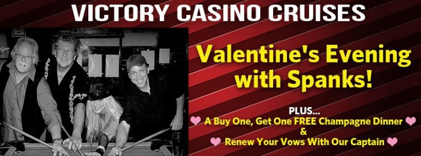 Valentine's with Spanks & Buy One, Get One Free Champagne Dinner