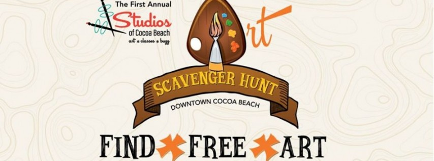 1st Annual Cocoa Beach Art Scavenger Hunt