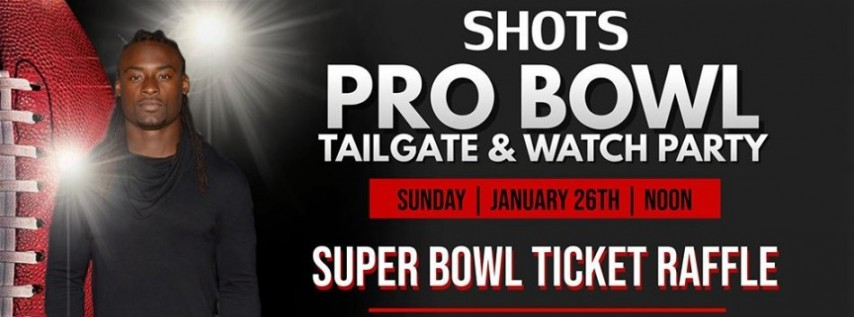 Pro Bowl Tailgate ; Watch Party with Johnathan Cyprien