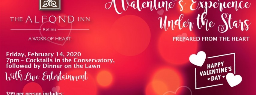 A Valentine's Experience Under the Stars