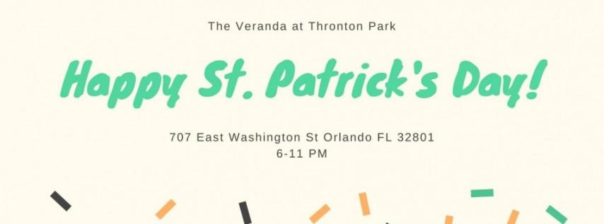 St Patrick's Day at The Veranda