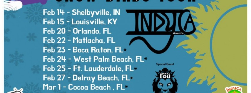 Indyca at Coconuts on the Beach