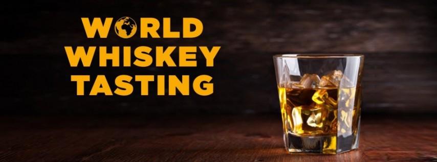 World Whiskey Tasting