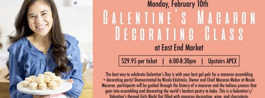 Galentine's Macaron Decorating Class