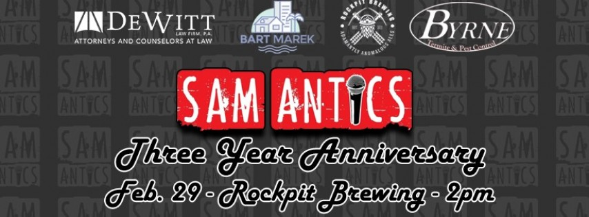 Samantics 3 Year Anniversary