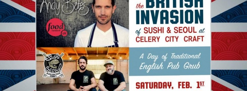 British Invasion with Chef Andy Bates of Food Network UK
