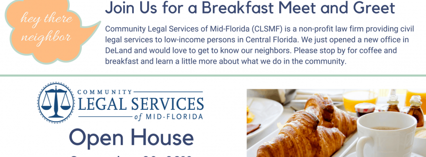 CLSMF DeLand Office Open House