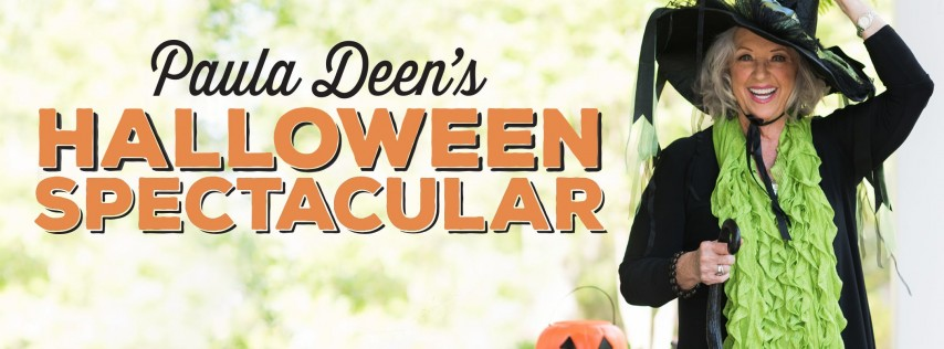 Paula's Halloween Spectacular: An Afternoon with Paula Deen in her Home
