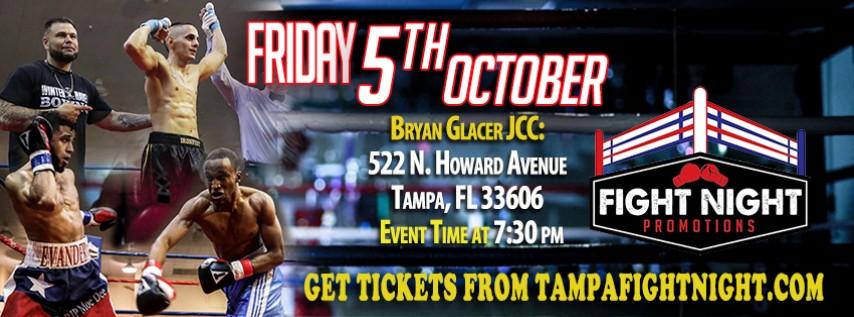 FRIDAY NIGHT BRAWL By Fight Night Promotions