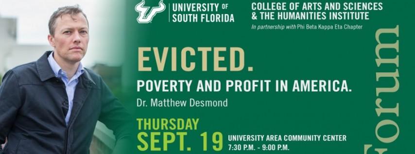 Frontier Forum Presents Dr. Matthew Desmond