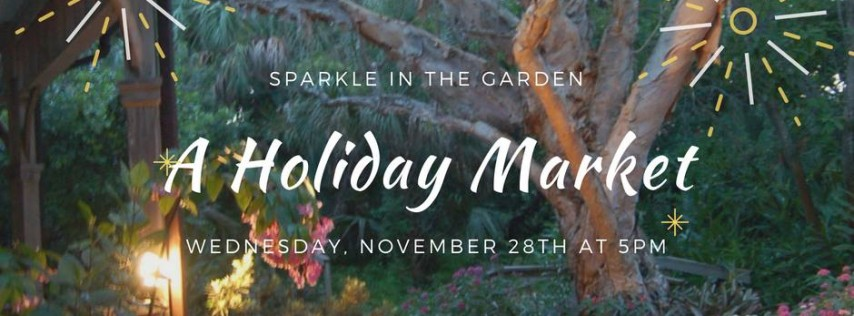 Sparkle in the Garden at Ormond Memorial Art Museum