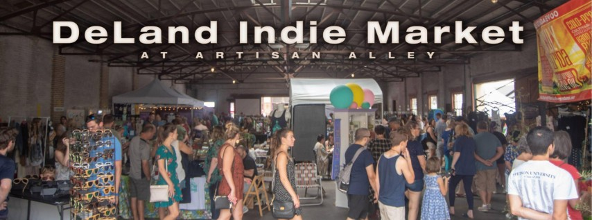 The DeLand Indie Market Fall Edition