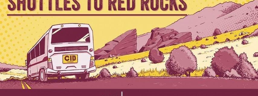 Shuttles to Red Rocks - 9/2 - Jason Mraz