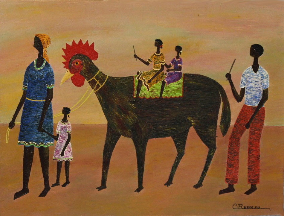 POWER, MYTH, AND MEMORY IN AFRICANA ART